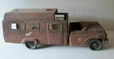 VINTAGE BUDDY L RIDING ACADEMY TRUCK PRESSED STEEL TOY VEHICLE FOR PARTS REPAIR