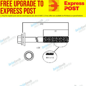 2001-2007 For Ford F250 5.4 Ltr Head Bolt Set