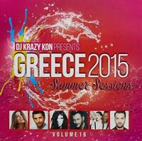 Greece 2015 Summer Sessions Vo  BRAND NEW SEALED MUSIC ALBUM CD - AU STOCK