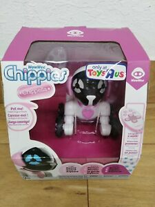 WoWWee Chippies Chippella Interactive Pup And Remote Control - White and Pink