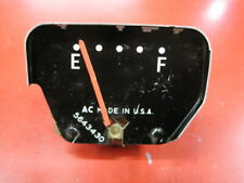 Nos other Oe Gm Oldsmobile Cutlass fuel gauge #5643430 61-63 F85 some scratches