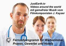 Sala d'attesa TV 1000 min video tutto il mondo su USB Stick HD 1280x720