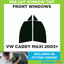 Pre Cortado para Ventana Tinte - VW Caddy Maxi 2003 Frente Windows