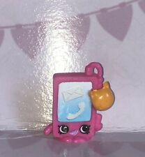 Shopkins Fashion Spree Series #10 SMARTY PHONE Pink Exclusive Mint
