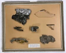 WW2 RAF WHITLEY BOMBER WRECKAGE,FRAMED LOT CAMBRIDGESHIRE WARTIME ORIGINAL