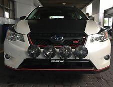 Fits 2015 Subaru Crosstrek, SSD RALLY LIGHT BAR, Bull Bar, 4 Light Mounting Tabs