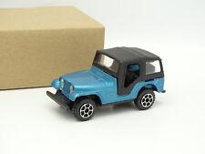 Polistil 1/43 - Jeep Wrangler CJ5 Bleue