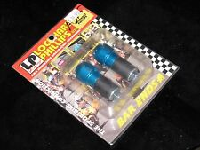 "LP RACING LOCKHART PHILLIPS BLUE ANODIZED BAR ENDS STANDARD 7/8"" NEW 135-160"