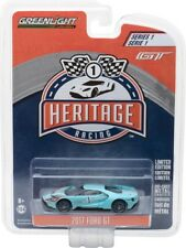 2017 FORD GT BLUE #1 RACING HERITAGE TRIBUTE SERIES 1 1/64 GREENLIGHT 13200 B