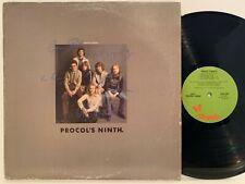 PROCOL HARUM procol's ninth 1975 (VG) CHRYSALIS CHR 1080 prog psych rock