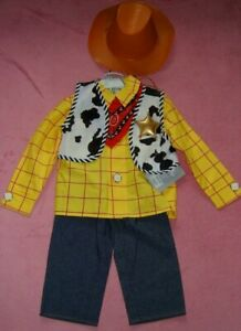 BOYS  AGE 4 YEARS TOY STORY WOODY OUTFIT DISNEYSTORE BNWT RRP £26