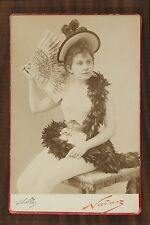 Mlle Marie Stelly, Actrice Chanteuse Théâtre, Photo Cabinet card, Nadar