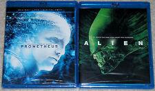 Sci-Fi Horror Blu-ray Lot - Alien (New) Prometheus (New)