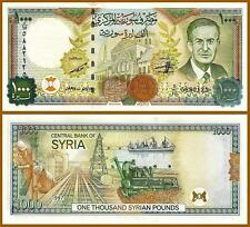 SYRIA 1000 POUNDS 1997 2012 UNC CONSECUTIVE 20 PCS LOT P.111 PREFIX D FREE SHIP