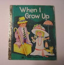 LGB When I Grow Up, Ilse-Margret Vogel, 3rd Print, 1972