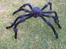 HALLOWEEN  BLACK SPIDER WITH BENDABLE LEGS