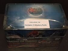 Magic The Gathering 5 Mystery PACKS Inside Sealed Ultra Pro TIN TRIO Deck VAULT