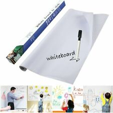 Whiteboard Contact Paper, 45cm(W)×200cm(L) Self Adhesive Wall Sticker Wall