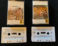 Woodstock - Part 1 & 2 [2 VTG/RARE Cassette Tapes, Cotillion/Columbia House]