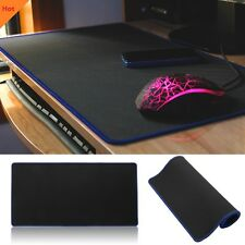 Extra Large 60cm30cm Blue Gaming Mouse Pad Mat for PC Laptop Macbook Anti-Slip