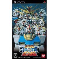 Used PSP Mobile Suit Gundam vs Gundam BANDAI SONY PLAYSTATION JAPAN IMPORT