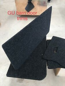 NISSAN PATROL GU MARINE CARPETED BARN DOOR TRIMS