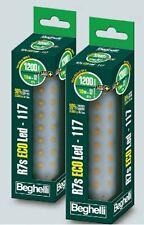 BEGHELLI 56114 LAMPADA A LED R7S 10W  2700K 117mm LINEARE-SOSTITUISCE ALOGENA