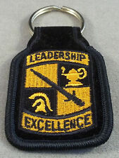 US Army ROTC Cadet Command Leadership Excellence Embroidered Keychain