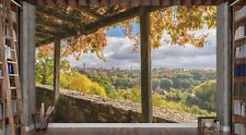 View of Rothenburg, Bavaria 12' x 8' (3,66m x 2,44m)-Mural Unique