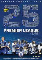 CHELSEA FC THE 25 PREMIER LEAGUE YEARS DVD Football Club Matches UK Release New