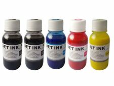 Sublimation heat transfer Refill ink for all Epson printer cartridges 5x100ml