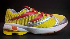 Newton Women's Size 5 Distance Stability Racer Running Shoes 008 Yellow Red