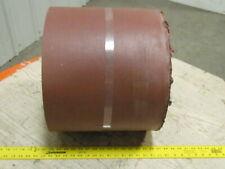 "5-Ply Rubber Ribbed Nipple Top Material Handling Conveyor Belt 14""x25'"