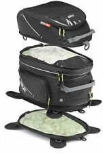 Bag tank bags Givi magnetic divisible and expandable 25+15 Lt Black