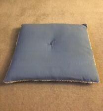 Vintage Decorative Home Accent Tabletop Bolster Pillow Lace Trim
