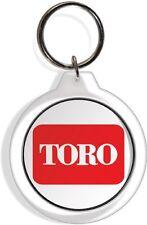 Toro Tractor Farm Garden Lawn Rider Mower Keychain Key Ring Chain Acrylic