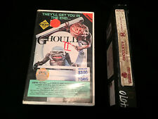 GHOULIES 2 AUSTRALIAN VHS VIDEO W.A.S.P. WASP 1987 VESTRON