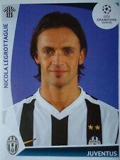 Panini 27 Nicola Legrottaglie Juventus Turin UEFA CL 2009/10
