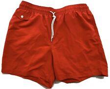 Ralph Lauren Purple Label Red Swimsuit Shorts Size Medium