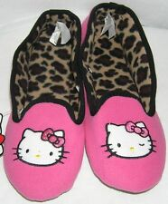 Hello Kitty Slippers PINK NICE GIFT FREE USA SHIPPING LADIES SMALL 5-6 NWT