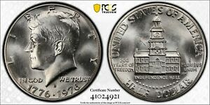 1976 S Kennedy Half Dollar PCGS MS65 Silver DDO FS101 Registry Coin Bicentennial