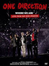 One Direction Where We Are Live From San Siro Stadium (DVD, 2014)