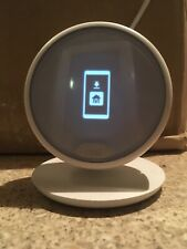 Nest E Programmable Thermostat with Google Home Mini And Smart GE Bulb