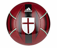 adidas Capitano 2014 Soccer BALL AC Milan Edition Brand New Red  Size 5