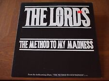 "LORDS OF THE NEW CHURCH Method To Madness 1984 Original Promo VINYL 12"" Single"