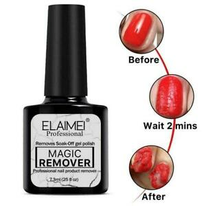 Elaimei Professional Bursting Magic Nail Polish Remover Manicure Soak-Off Gel