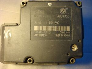 BMW E36, E46,  ABS DSC control unit,   ATE  34.51-1164897,     3451-1164897