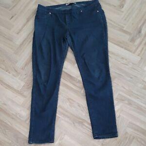 Womens Denim Co Blue Denim Stretchy Jeggings Size 14/L29
