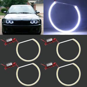 131mm 146mm COB Angel Eye Rings 8000K Halo Light Lamp for BMW E36 E46 E31 E39