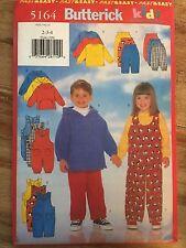 Butterick #5164 Children's Top, Jumpsuit & Pants - Sizes 2-4